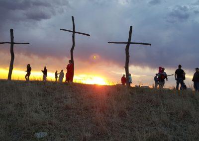 Easter Morning on the Barnard Hill 2019